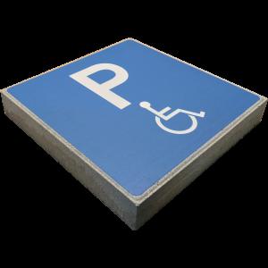 Signaaltegel - Invalide parkeerplaats